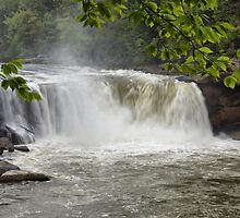 Cumberland Falls Close-up by Sandy Keeton