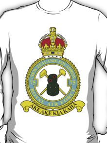 75(NZ) Squadron RAF Full Colour crest T-Shirt