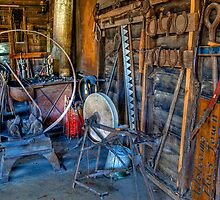 Wagon Tire Machine by PFrogg
