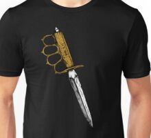 World War 1 Trench Knife Alone Unisex T-Shirt