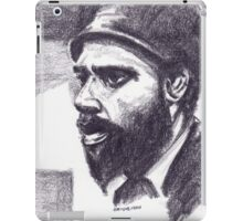 Sketch Of Thelonious iPad Case/Skin