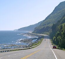 Road View..(In the area of Gaspesian island.Quebec) by marchello