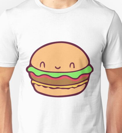 Cute Burger Unisex T-Shirt