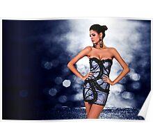 High Fashion Dress Fine Art Print Poster