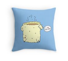Moch-baa Throw Pillow