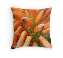 Orange Pokers Throw Pillow