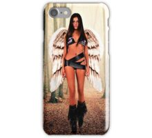 Angel in the forest Fine Art Print iPhone Case/Skin