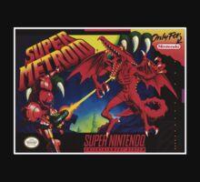 Super Metroid Super Nintendo NES Box cover  by ruter
