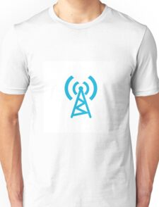 Signal, tower, radio and broadcast tower  Unisex T-Shirt