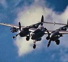 P38 Lockheed Lightning by Edward Henzi