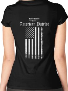Free Since 1776 - American Patriot Women's Fitted Scoop T-Shirt