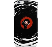 I'm spinning within with a vinyl record... GRUNGE TEXTURE iPhone Case/Skin
