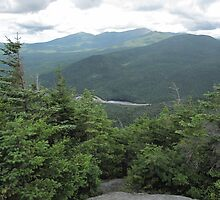 The Presidential Range in New Hampshire by maxy