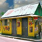 Barbados local corner store by Jerry Clitty
