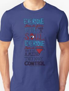 AJJ Hand Drawn Typography T-Shirt