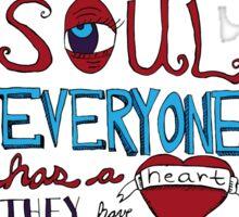 AJJ Hand Drawn Typography Sticker