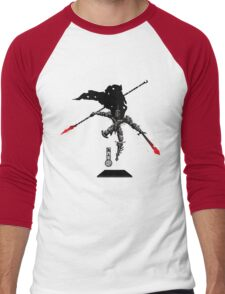 The Game of Kings, Wave Three: The Black King-Knight's Pawn Men's Baseball ¾ T-Shirt