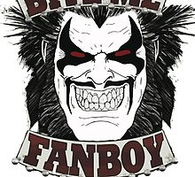 Lobo Bite Me Fanboy  DC comics  by estebanjosue25