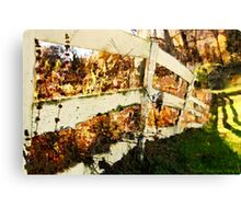 Grainery Fence / Canvas Print