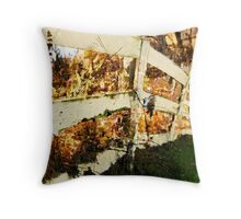 Grainery Fence / Throw Pillow