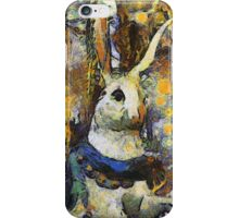 Childhood Dreams - Chasing the White Rabbit iPhone Case/Skin