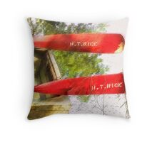 Fishing Boat  /   Throw Pillow