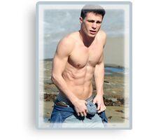 Colton Haynes Hot Shirtless Canvas Print