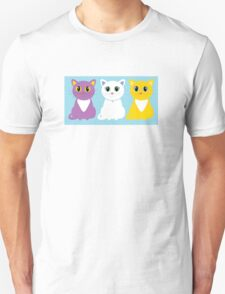 Only Three Cats Unisex T-Shirt