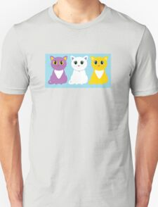 Only Three Cats T-Shirt