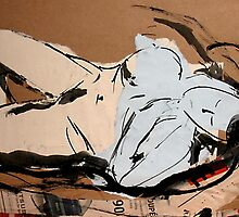 RECLINING NUDE by nellaevad