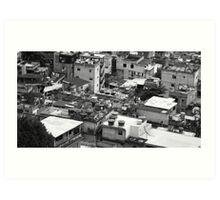 The Favela Art Print