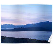 Dusk in Kenai Fjords Poster