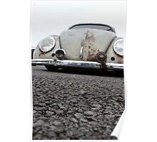 VW bug - low down Poster