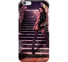 High Fashion Model With Turkey iPhone Case/Skin