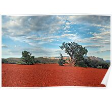 Red Rock/ Red Soil Poster