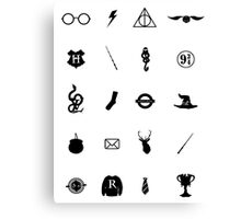 Harry Potter Charms Canvas Print