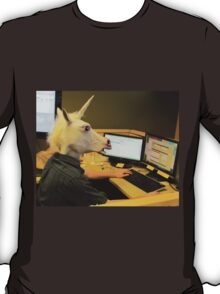 Unicorn in a cubicle #2 - the crushing of the soul T-Shirt