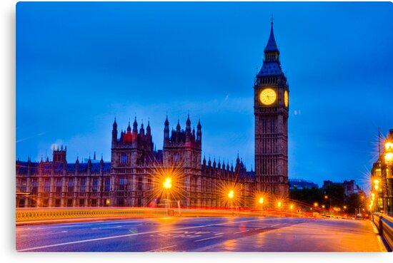 Big Ben By Night / Morning by DonDavisUK