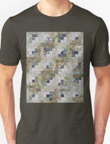 Foggy Morning Log Cabin Quilt T-Shirt