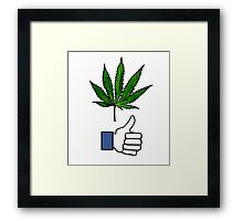 Like weed Framed Print