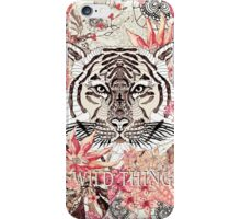 WILD THING VINTAGE iPhone Case/Skin