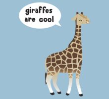 Giraffes are cool One Piece - Short Sleeve