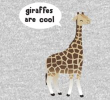 Giraffes are cool One Piece - Long Sleeve