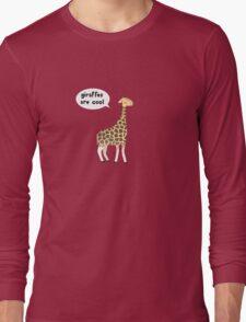 Giraffes are cool Long Sleeve T-Shirt