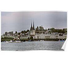 Lake Luzern - Switzerland Poster
