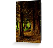 """""""At The Edge Of The Forest"""" Greeting Card"""