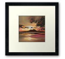 Jura Sky Framed Print