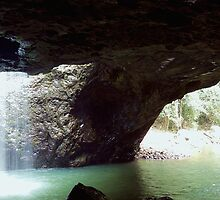 Natural Arch QLD Australia by Rowan Nancarrow