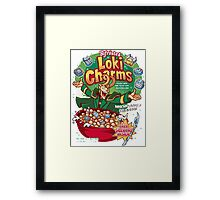 Loki Charms Framed Print