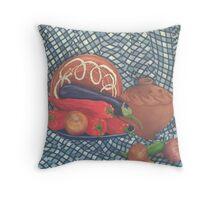 Red Hot Throw Pillow